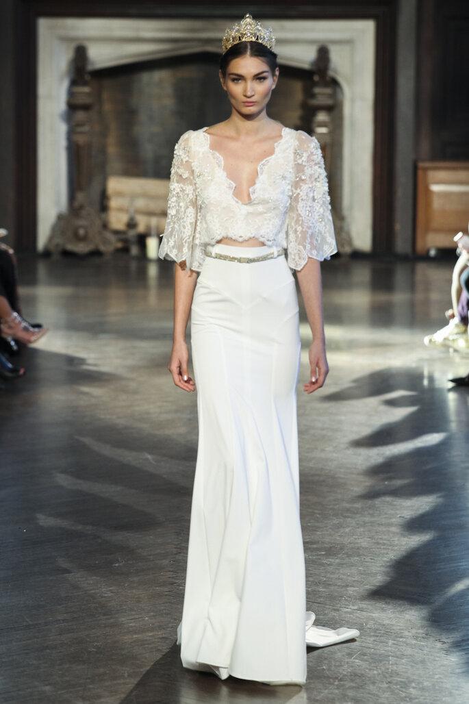 Las tendencias más grandiosas en vestidos de novia 2015 - Inbal Dror Oficial