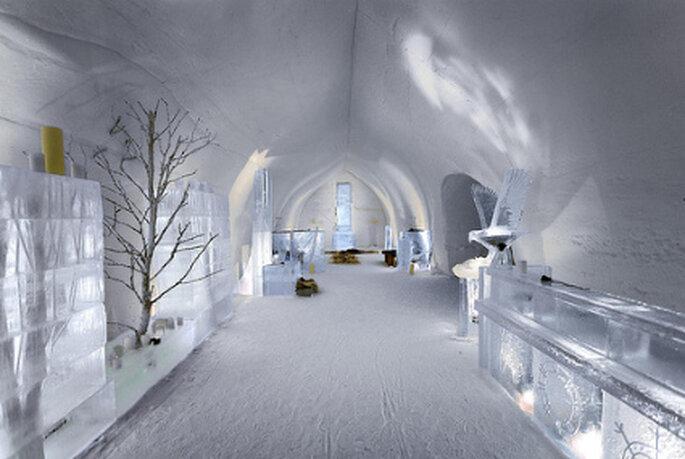 Casamento no gelo - Hotel Kakslauttanen Finlandia