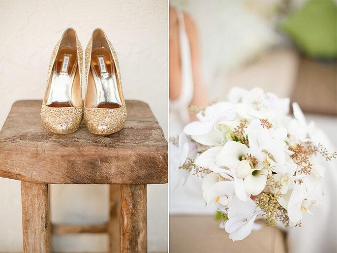 Zapatos para novias 2014. Foto: KT Merry - Photography www.ktmerry.com