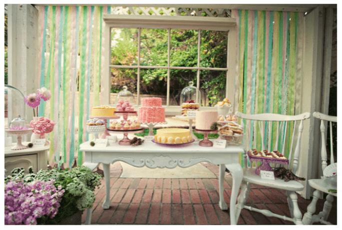 Las mejores  mesas de postres del 2013 - Foto Jeanna Hayes