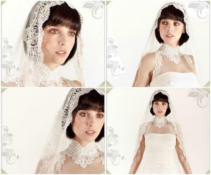 Detalles del vestido creado por Rosa Clará para Leticia Dolera. Foto: Rosa Clará
