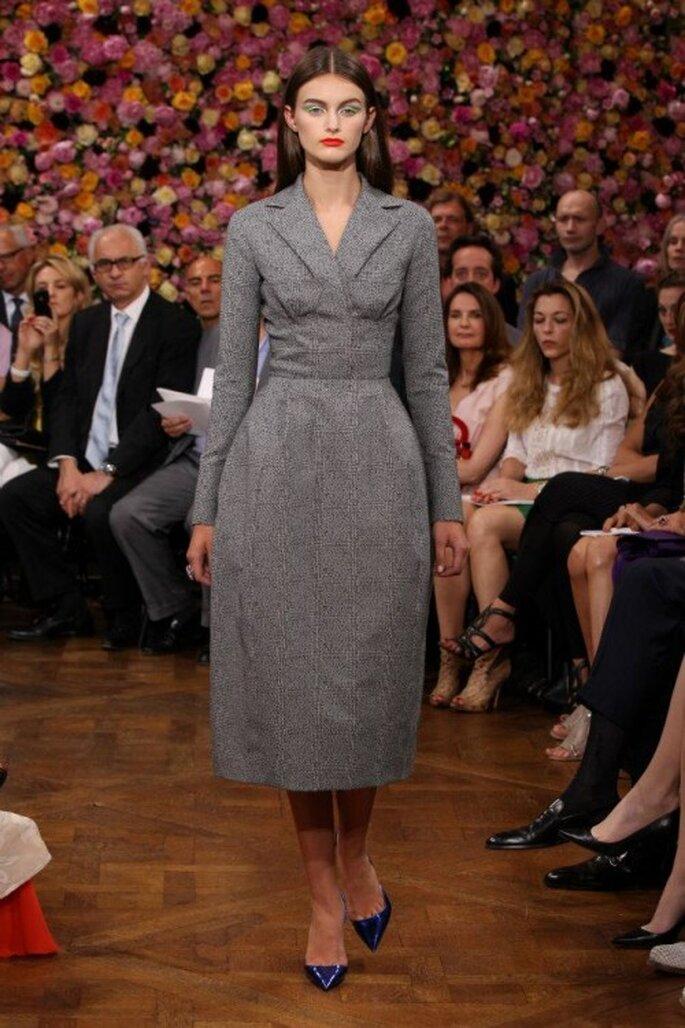 Warme, elegante Kleider sind warm und schick – Foto: Dior via facebook