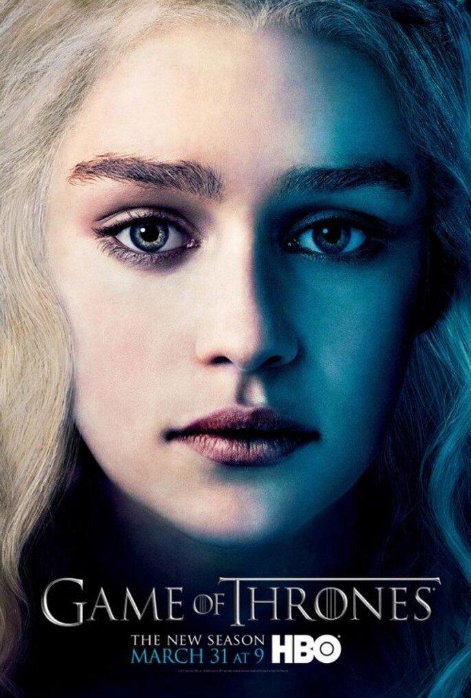 Maquillaje de novia al estilo Daenerys Targaryen - Foto Game of Thrones Facebook