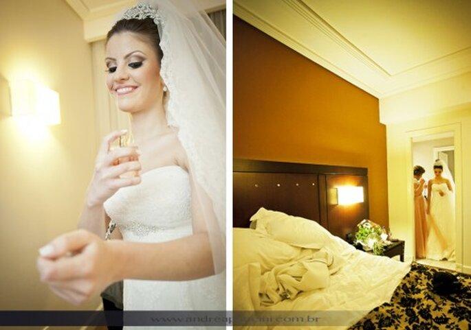 Cómo cuidar mi vestido de novia el día de la boda. Foto Andrea Paccini