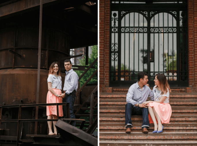 Increíble sesión casual de Jessica y José Antonio en Monterrey - Foto Armando Aragón