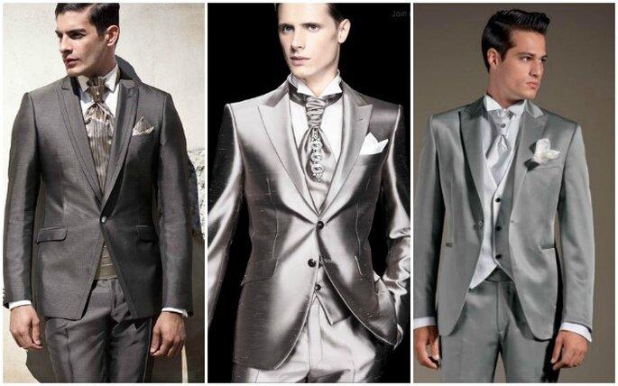 Selezione di cravatte per lo sposo. Da sinistra: Pal Zilieri, Pignatelli Cerimonia, Lubiam.