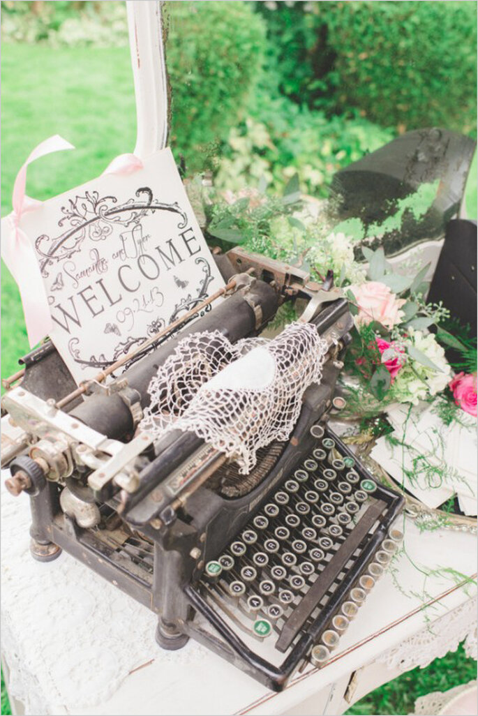 Real Wedding: Una boda estilo shabby chic ¡preciosa! - Park Road Photography