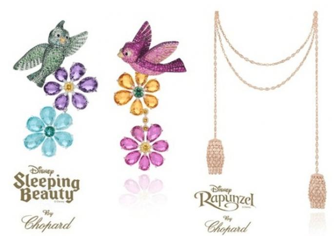 Joyas para novia inspiradas en Rapunzel y La bella durmiente - Foto Chopard