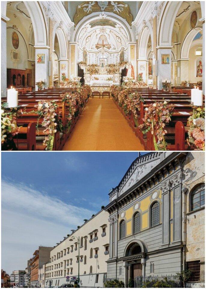 Chiesa di Santa Lucia al Monte e Hotel di San Francesco al Monte