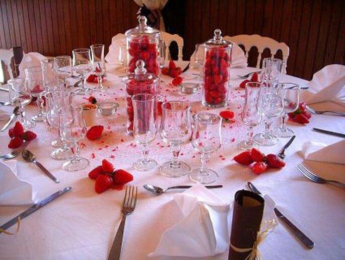 Table fraise - Chezsylviane-didier.com