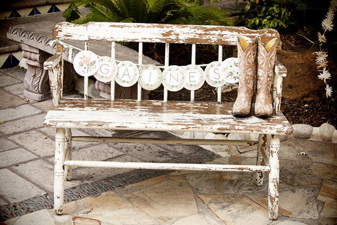 Una boda con detalles country - Foto Kassie Moore