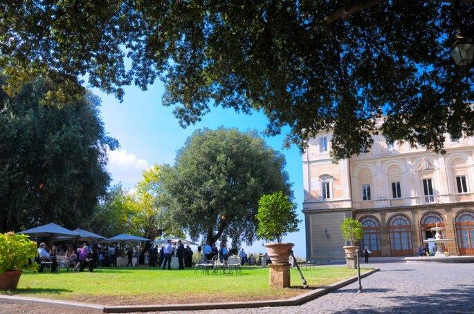 Villa Grazioli - Aperitivo all'aperto