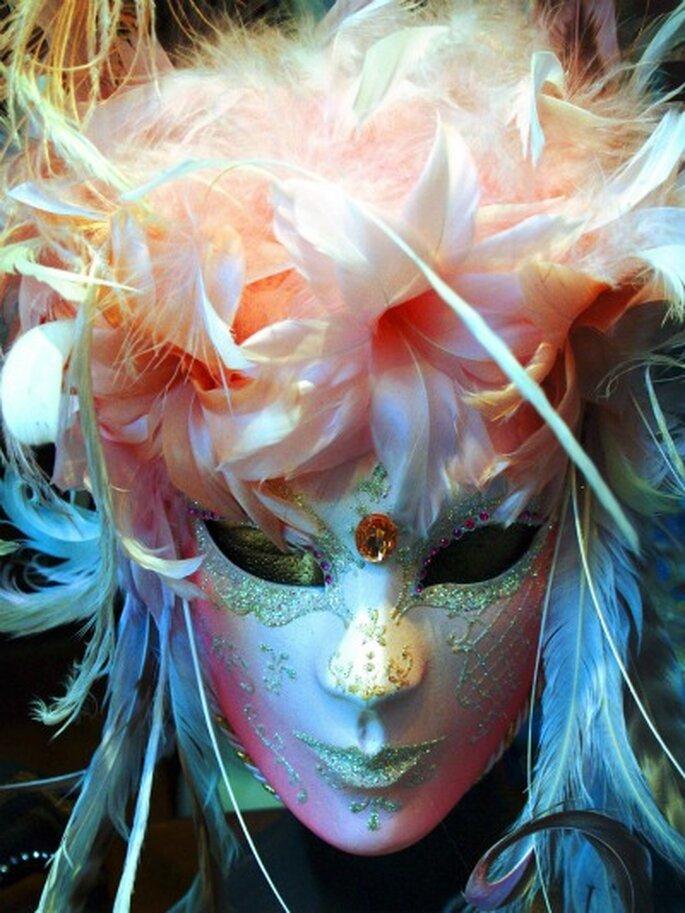 Thème de mariage Venise : on joue avec les masques vénitiens !