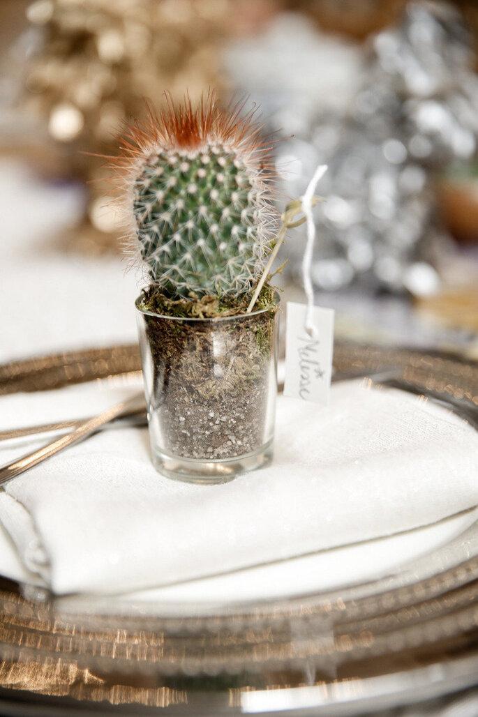 Una boda exótica decorada con cactus - Tory Williams Photography