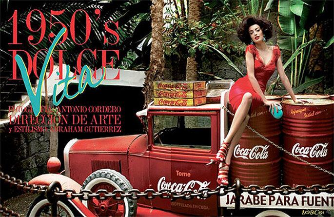 La revista de novias LucíaSeCasa tiene sus propios editoriales de moda de fiesta y novia. Foto: LucíaSeCasa