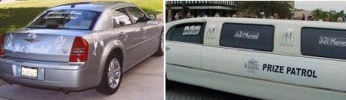 Preparar el carro para los novios toma tiempo, hay que tenerlo listo con antelación a la boda o de lo contrario quien tenga a cargo esta tarea se perderá de la boda.
