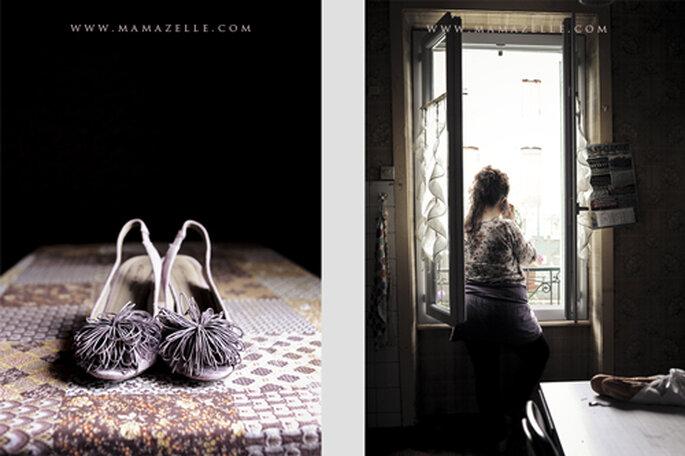 Warten auf den großen Moment. - Foto: www.mamazelle.com
