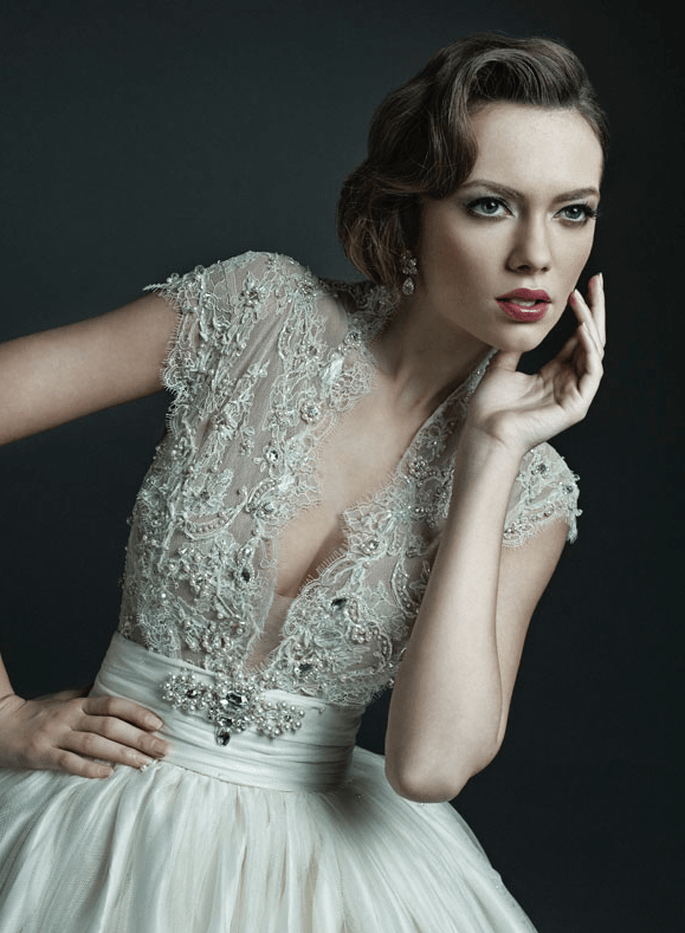 Increíbles estilo de novia art decó - Foto Ersa Atelier