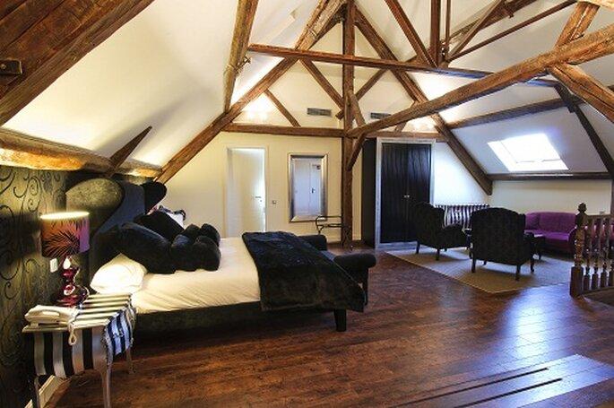 Los interiores son cálidos, acogedores y románticos. Foto: Grupo Fuentepizarro.