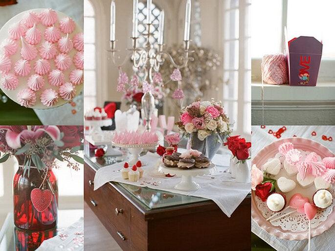 Inspiración en rojo para boda. Foto de Alea Lovely.
