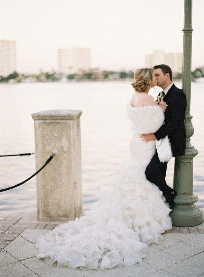 Tendencia de bodas urbanas - Foto Kat Braman Photography