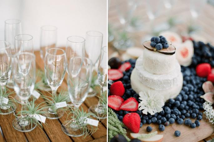 Tendencias en pasteles de boda 2014. Fotografía KT Merry