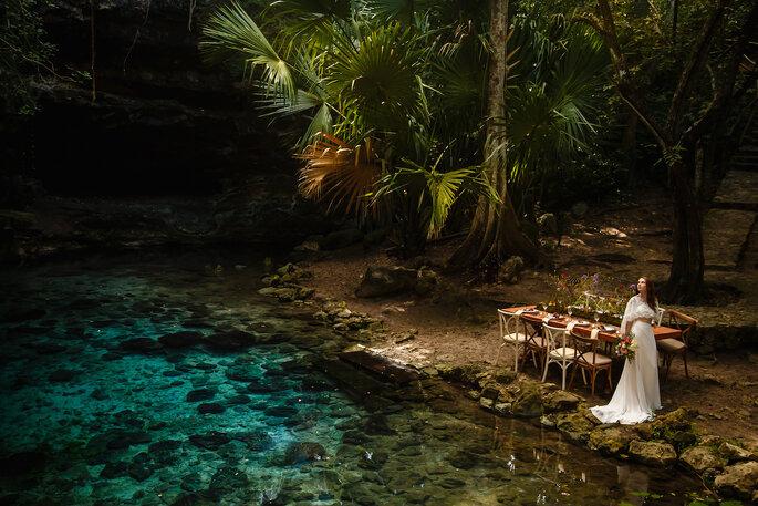 Foto: Pipe Gaber para Yucatán Love en Cenote Xbatún
