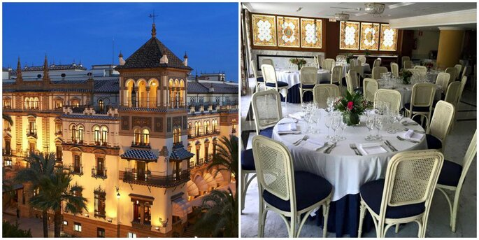 Hotel Alfonso XIII y Hotel Inglaterra
