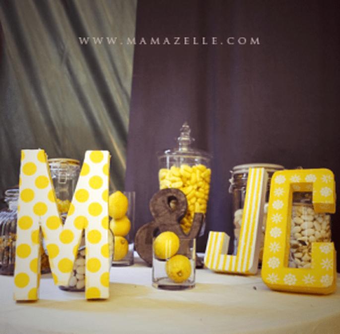 Süssigkeiten für Ihre Hochzeit. Foto: © Mélissa Lenoir