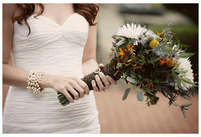 Bouquet de mariée avec une conception originale pour 2013 - Photo Love Life Images