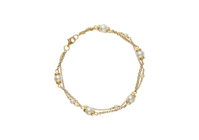 Bracelet Fancy Perle, Or du Monde