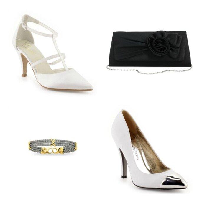 Un style chic et classique. Photos: La Halle aux Chaussures et Ysora