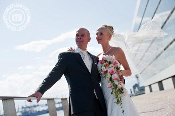 Hochzeitsgrüße aus Hamburg - Foto: Nicole Bartels.