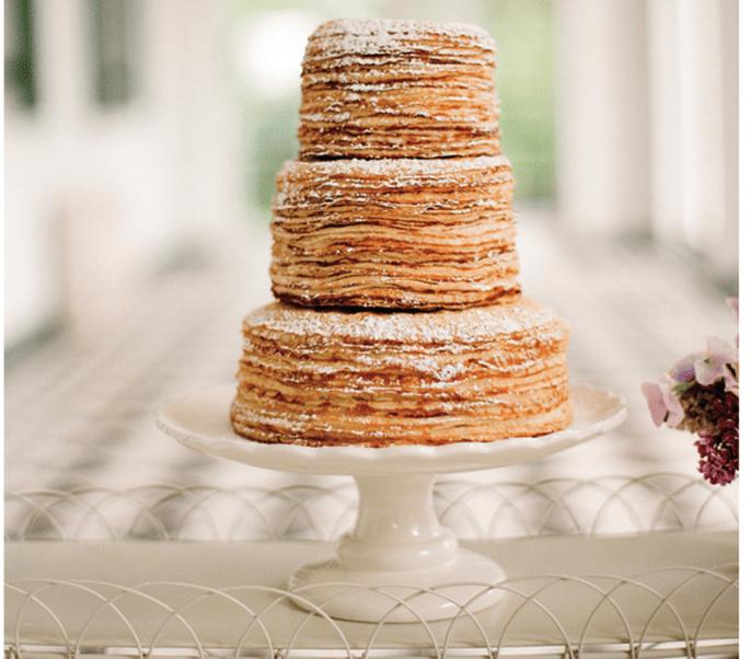 El naked cake, la tendencia más deliciosa en pasteles de boda - Foto Eric Kelley