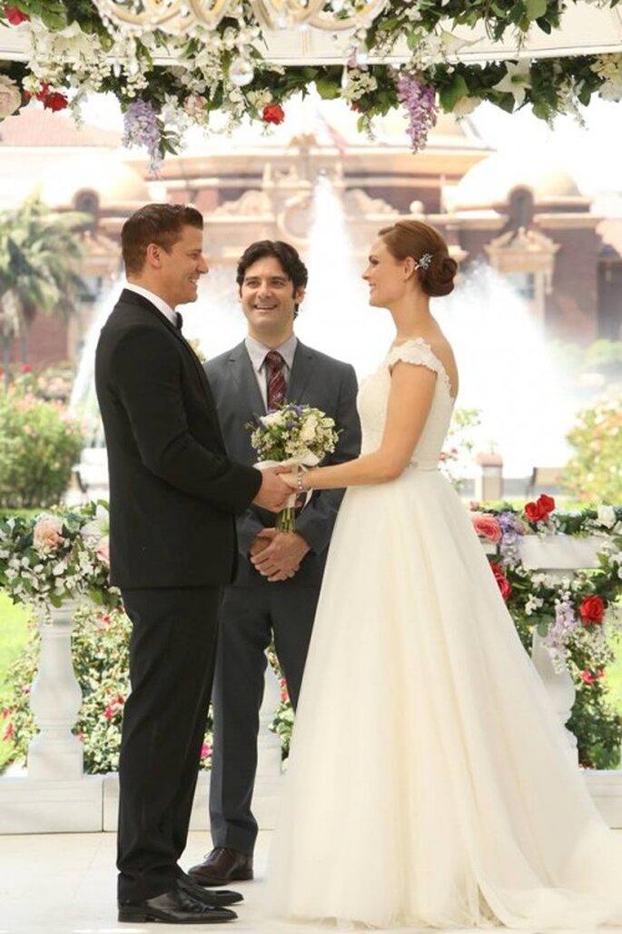 Booth y Brennan finalmente se casan - Foto FOX