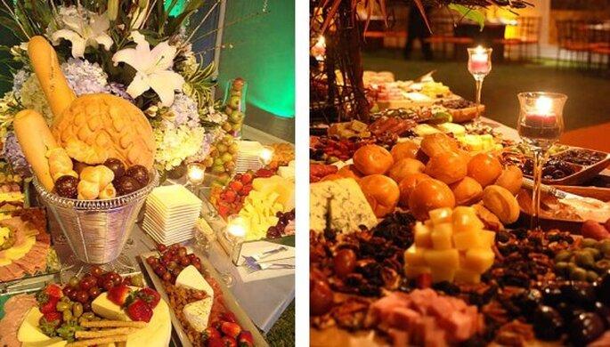 Catering para boda. Foto del sitio de Vanessa Corcuera.