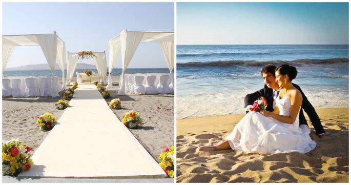 Créditos: foto derecha Tamara Sepúlveda - Wedding Planner/ foo izquierda de Boda Brillante