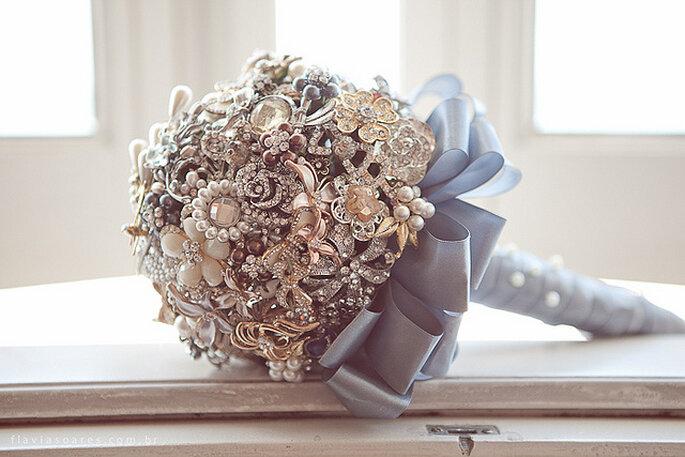 El ramo de novia: uno de los protagonistas del gran día. Foto: Flavia Soares
