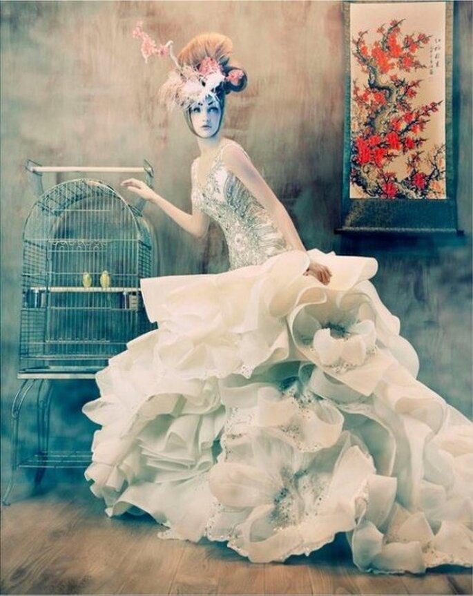 Transformación y reinterpretaciones de los vestidos de novia - Foto M Conover