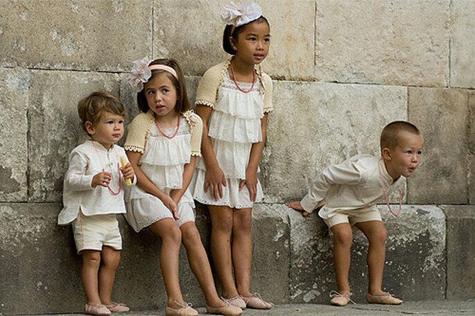 Vestidos y trajes para pajes, de No Sin Valentina