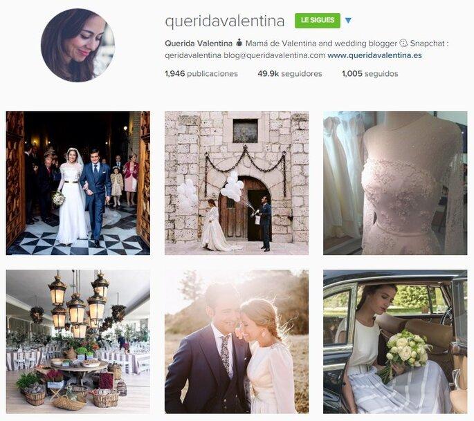 Imagen vía Instagram Querida Valentina