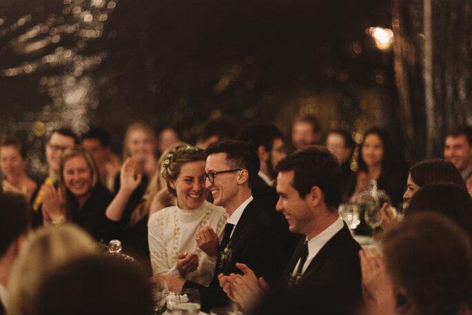 Un dulce casamiento íntimo con estilo vintage. Foto: Karen Kristian Photographer