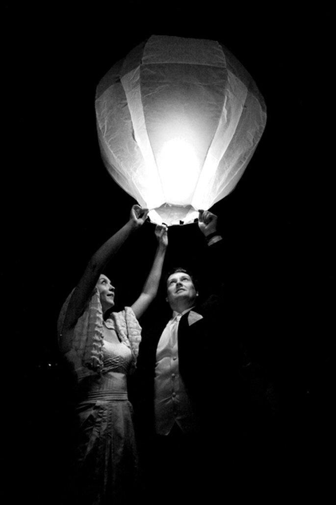 Lassen Sie anstatt des Feuerwerks Ballons steigen – Foto: Nuno Palha