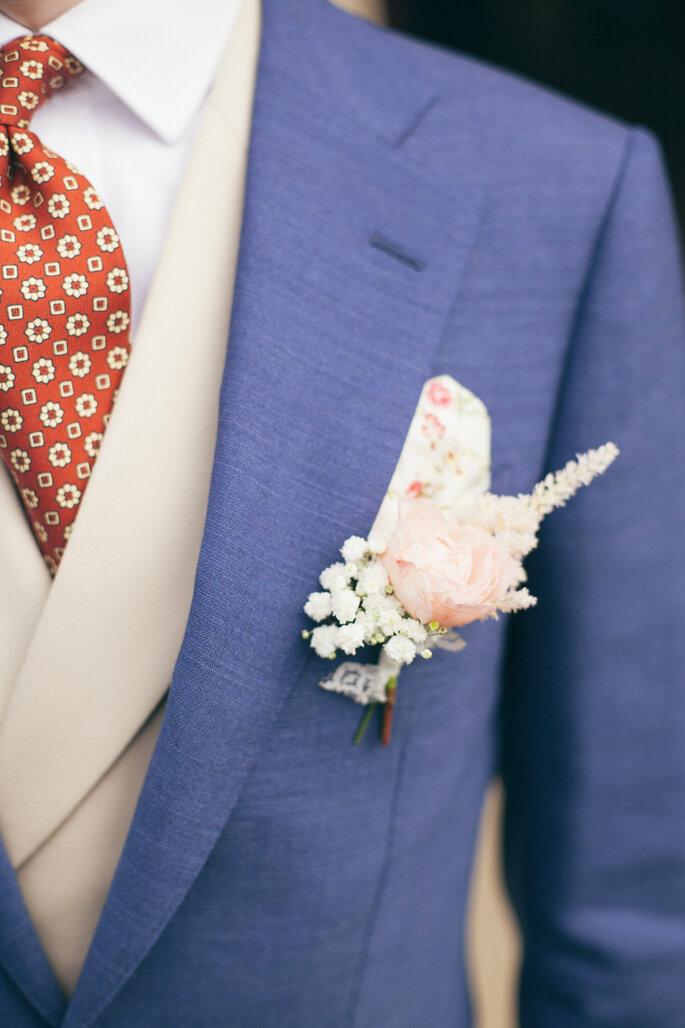 Boutonnière marié - Wedding Planner Île de France