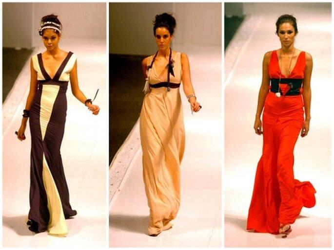Vestidos para damas de honor, diseños de Kitzia Mitre
