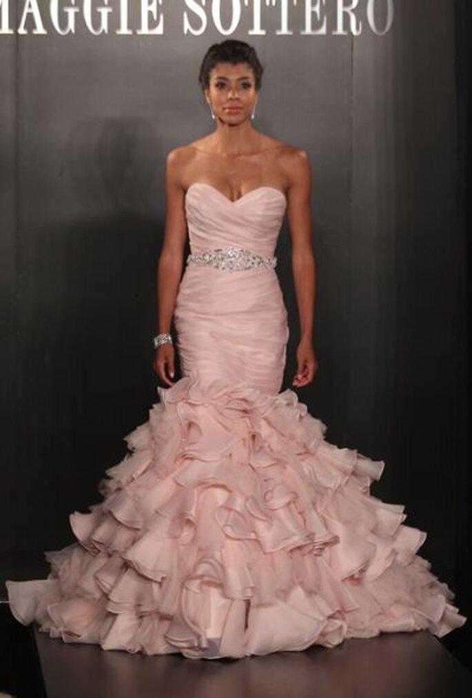 Robe de mariée rose Maggie Sottero 2013
