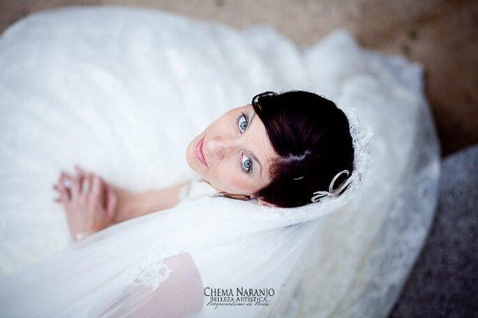 Retouches beauté le jour du mariage - Photo : Chema Naranjo