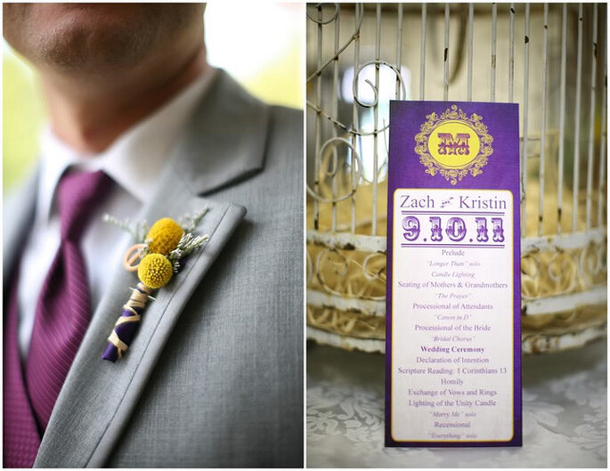 Invitation rustique chic. Photo: Alea Lovely