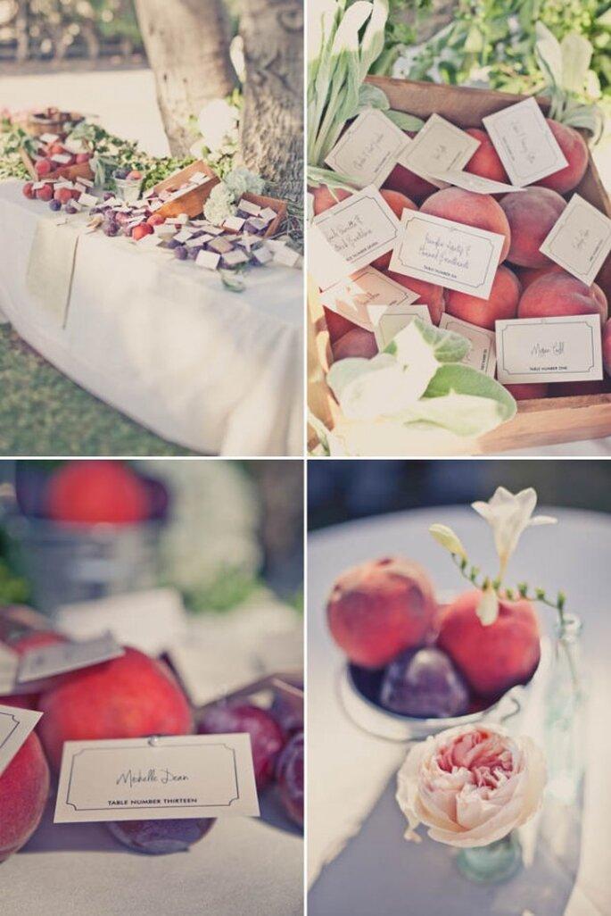 Idées pour décorer votre mariage avec des fruits - Photo One Love Photography