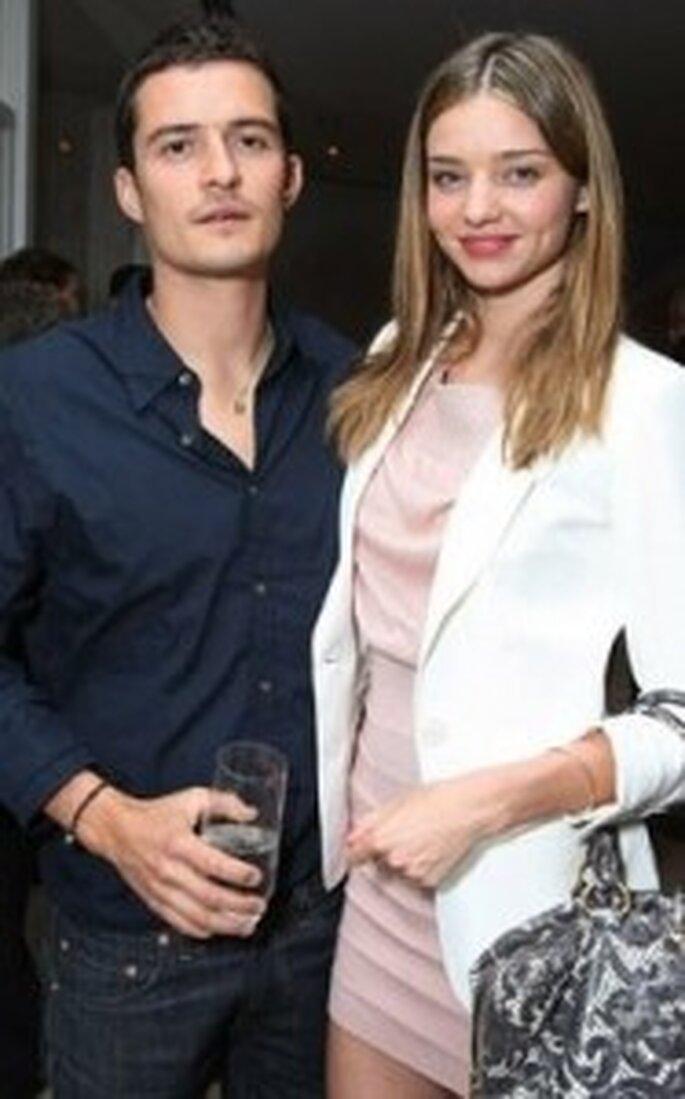 Orlando Bloom y Miranda Kerr